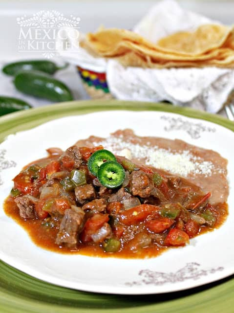 Easy Mexican Beef Stew | Mexican Recipes