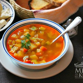 Easy vegetable soup recipe 2