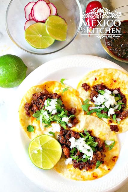 Chorizo Tacos Recipe | Mexican Recipes