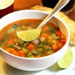 How to make an easy & delightful  Mexican Vegetable Soup