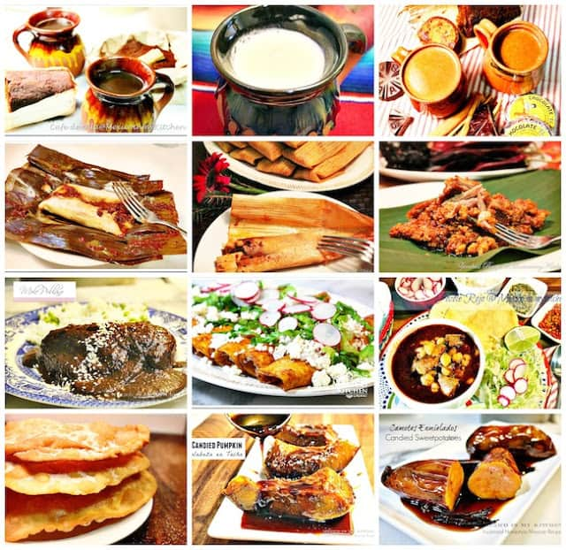 Day of the dead foods and drinks | Mexican Recipes