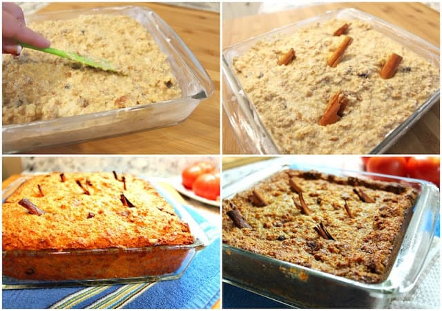 Mexican Bread Pudding | step by step instructions