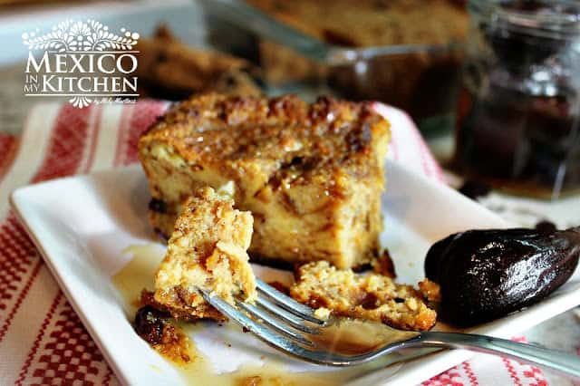 Mexican Bread Pudding | Authentic Mexican Food Recipes