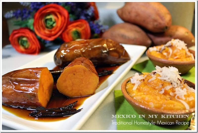 candied sweet potato & yucatan style sweet potato and coconut candy