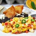 Mexican Style Scrambled Eggs – Huevos a la Mexicana