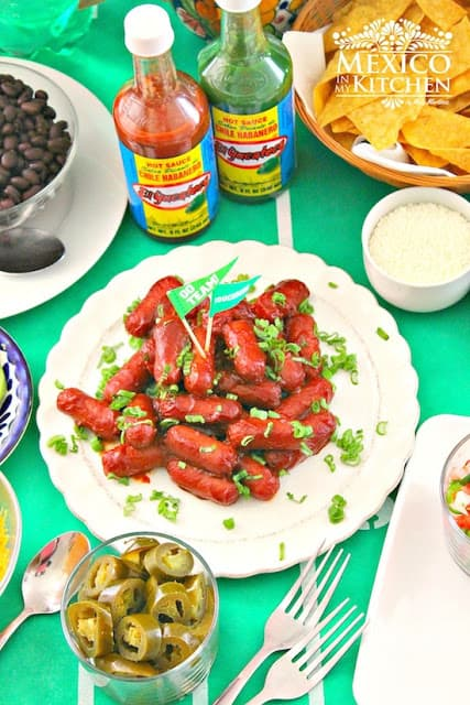 Game Day Party Ideas Food Deviled sausages