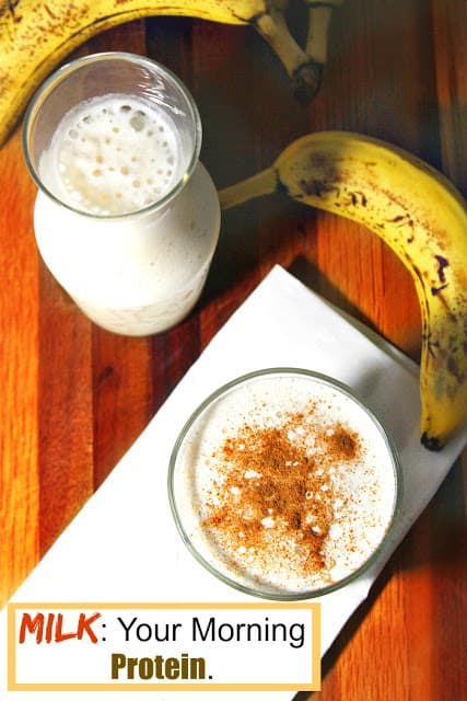 Easy banana smoothie | Quick and easy