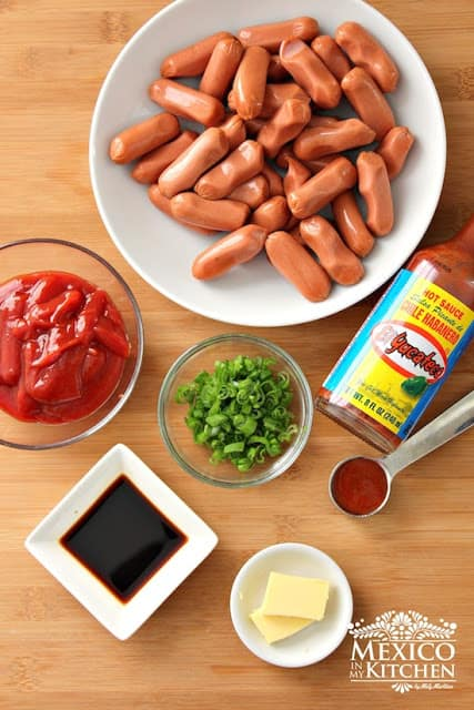 Game Day Party Ideas Food - Deviled Sausages