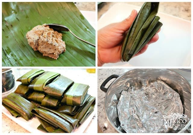 Black Bean Tamales Recipe