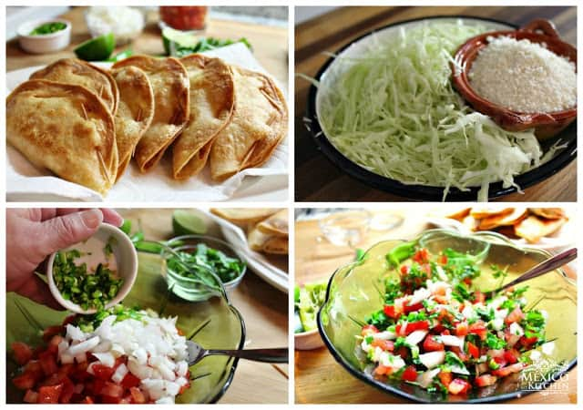 Crispy Potato Tacos | step by step instructions with photos of the process.