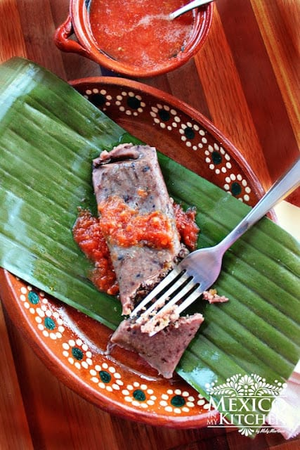 Black Bean Tamales Recipe | easy and with excellent results