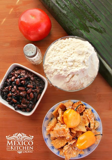Black Bean Tamales Recipe | easy and with excellent results to impress your guests.