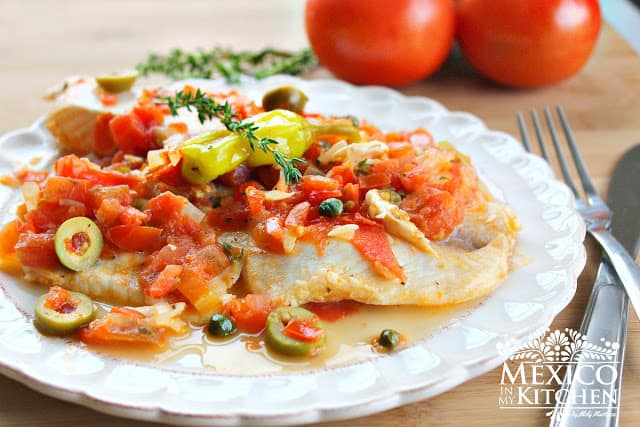 Tilapia Veracruz recipe | Authentic Mexican Food Recipes