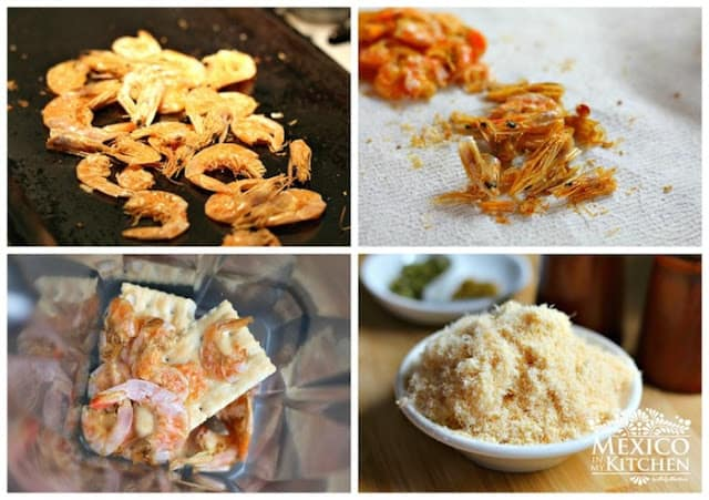 Dried Shrimp Patties | step by step instructions