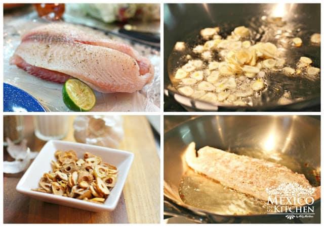 filete de pescado, quick and easy