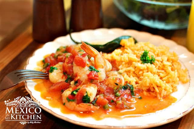 Shrimp Mexican Style   Authentic Mexican Food Recipes
