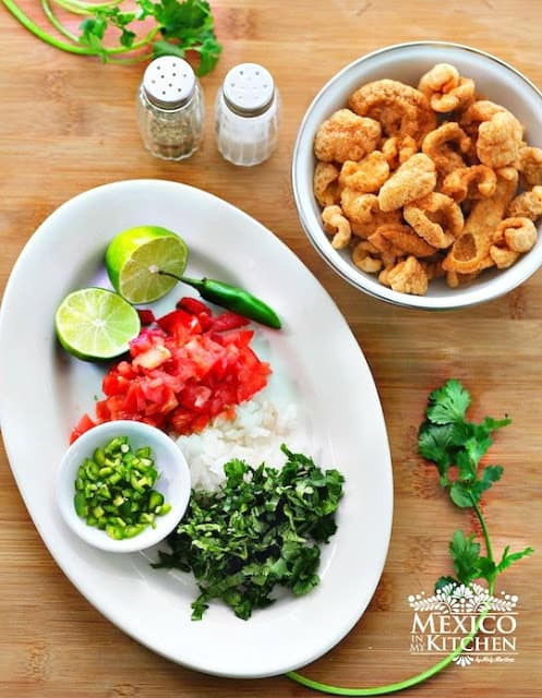 Quick Mexican appetizer recipe   Ingredients