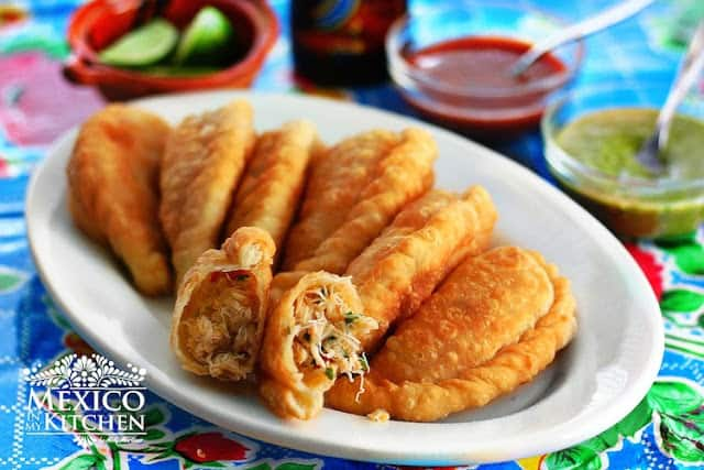 Crab empanada recipe | Mexican Recipes