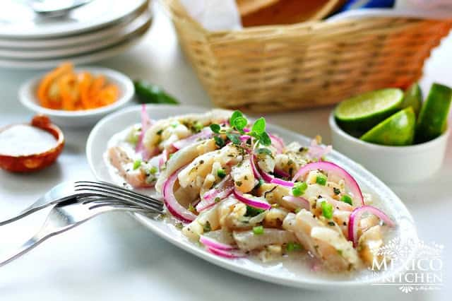 Tiritas de pescado Zihuatanejo recipe | Authentic Mexican Recipes