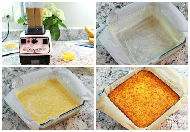 Easy Sweet Corn Bread | Instructions step by step, quick and easy