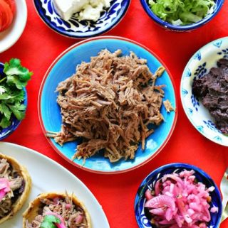 Shredded beef for tacos and more