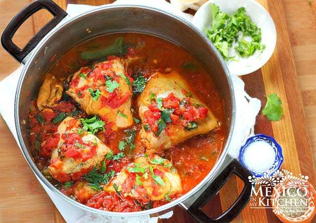Braised Chicken with Tomatoes | Really delicious