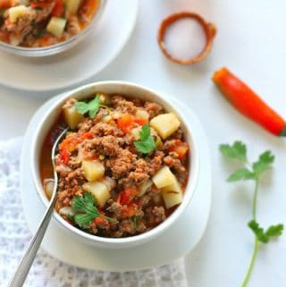 How To Make Picadillo Recipe Ground Beef And Potatoes
