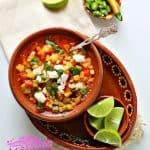 Corn and Zucchini Soup – Sopa de Calabacitas con Elote
