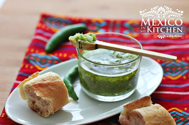 Fried Serrano pepper salsa | Authentic Mexican Recipes