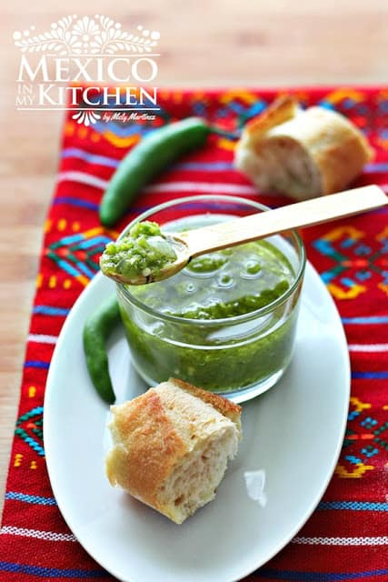 Fried Serrano pepper salsa | Mexican Recipes