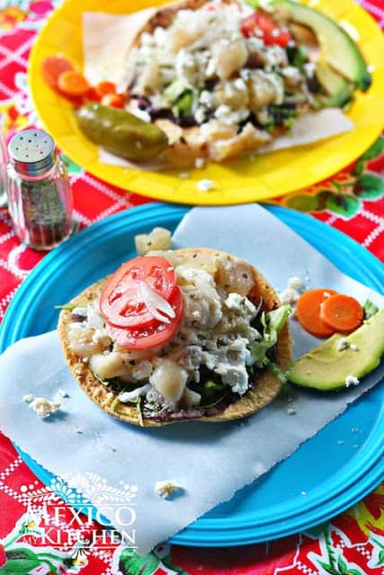 Tostadas de pata de res | Mexican Recipes