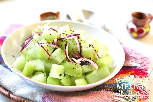 chayote salad recipe   Authentic Mexican Recipes