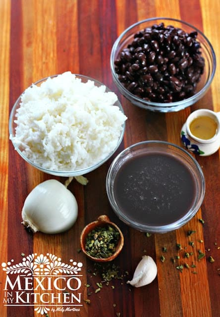 Moros Y Cristianos Black Beans And Rice Mexican Recipes