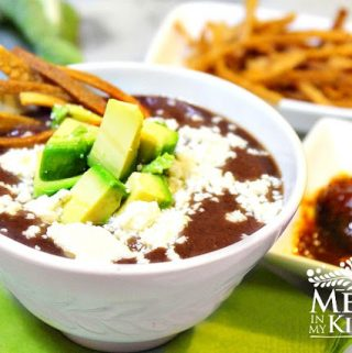 Creamy Black Bean Soup Recipe