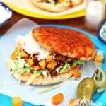 Pambazo Mexicano: Chorizo-Potato Sandwich