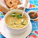 Mexican Fava Bean Soup – Sopa de Habas