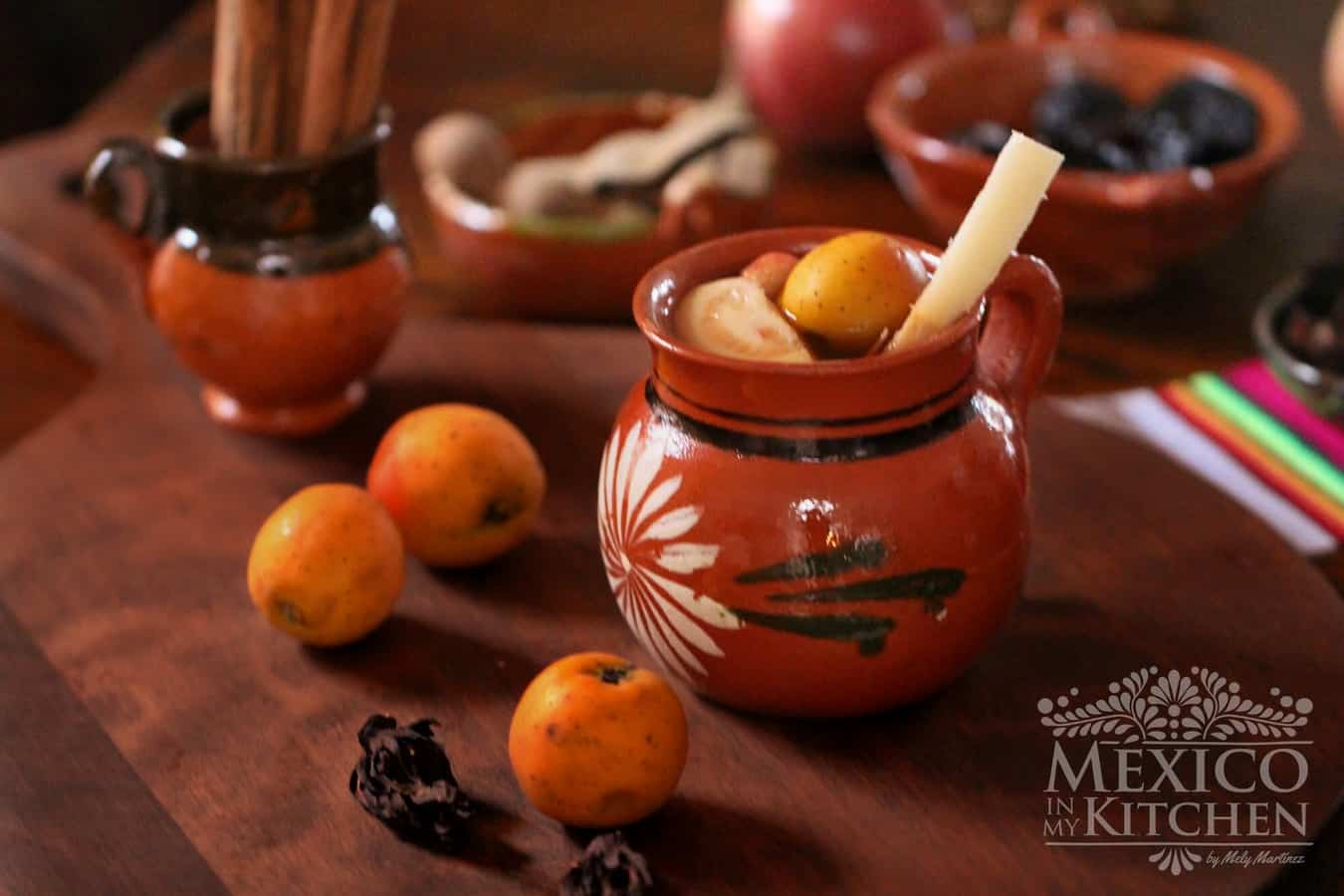 Mexican christmas fruit punch recipe | MEXICAN RECIPES