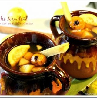 Mexican Christmas Punch / Ponche Navideño Mexicano