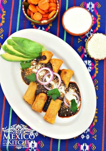 Turkey crispy tacos recipe   Mexican Recipes