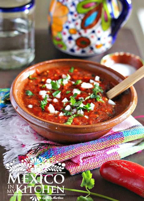 roasted Red Jalapeño Salsa recipe | Mexican Recipes