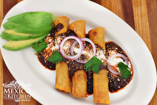 Turkey crispy tacos recipe   Mexican Food