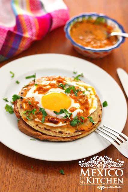 Empalmes recipe norteños receta de Monterrey
