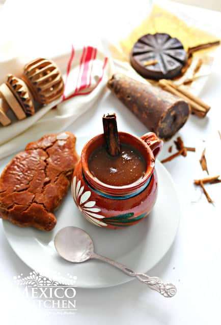Champurrado recipe | mexican hot thick chocolate drink