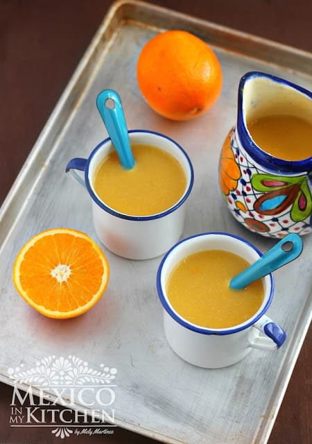 orange atole recipe naranja