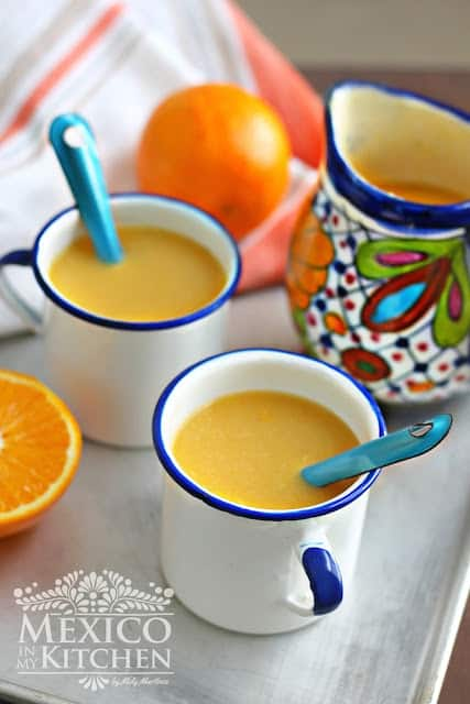 Mexican Food Recipes │Orange Atole