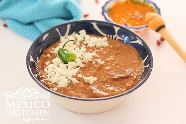 Pinto beans with chorizo