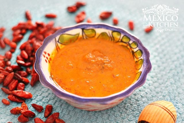 Piquin pepper salsa recipe