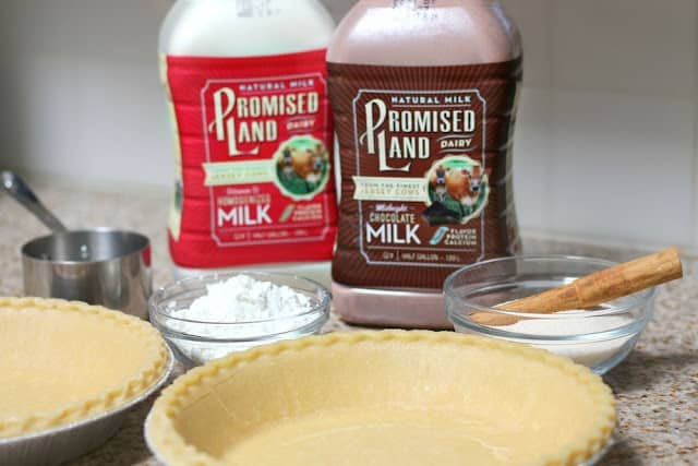 Chocolate Milk Pie Recipe quick and easy