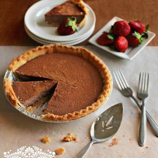 Chocolate Milk Pie & Milk Pie Recipe