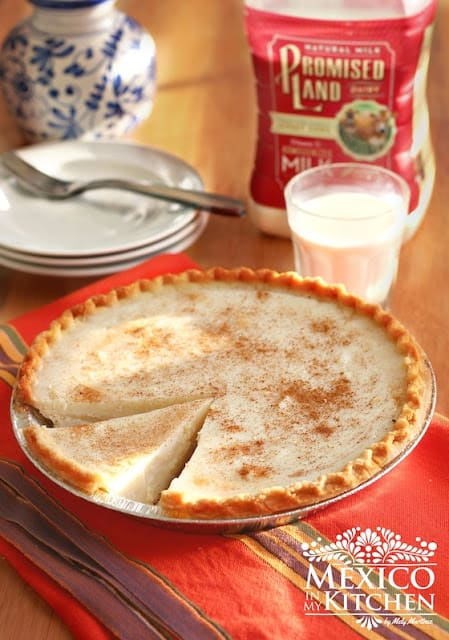 Milk Pie Recipe